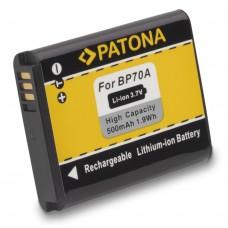 Batteria BP70A per Samsung ES65 / PL80 / SL50 / ST80, 500 mAh