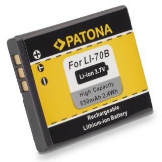 Batteria LI-70B per Olympus D-700 / FE-5040 / VG-160, 650 mAh