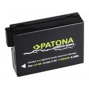Batteria LP-E8 per Canon EOS 550D / EOS 600D / EOS 650D /EOS 700D, 1140 mAh
