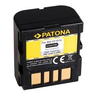 Batteria BN-VF707 per JVC GZ-MG505 / GR-D250 / GR-X5, 700 mAh