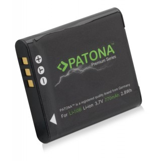 Batteria LI-50B per Olympus mju 1010 / SP-720 / Stylus TG-830, 770 mAh