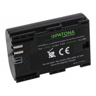 Batteria LP-E6 per Canon EOS 5D Mark III / EOS 5D Mark II / EOS 7D, 2000 mAh