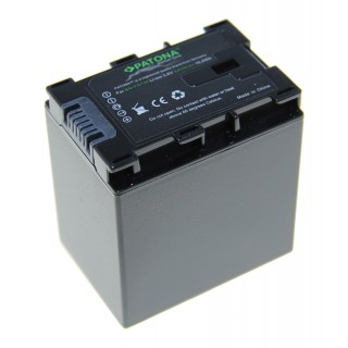 Batteria BN-VG138 per JVC Everio GZ-E100 / GZ-HD500 / GZ-MS110, 4450 mAh