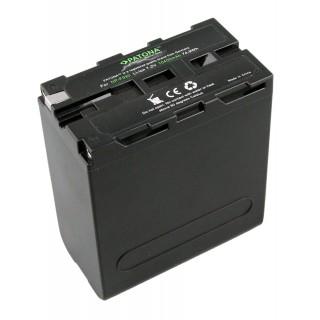 Batteria NP-F550 / NP-F750 per Sony CCD-RV100 / CCD-RV200, 10400 mAh