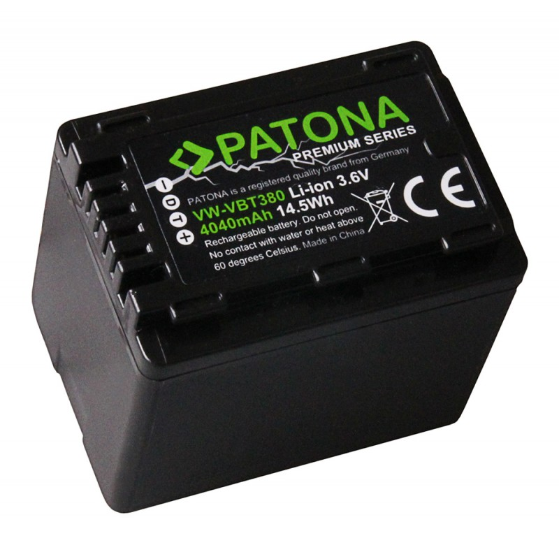 CARICABATTERIE Micro USB per PANASONIC hc-w570 hc-w580