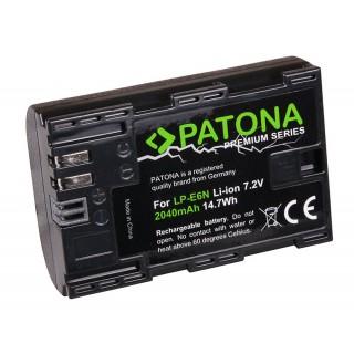 Batteria LP-E6 / LP-E6N per Canon EOS 5D Mark III / EOS 5D Mark II / EOS 7D, 2040 mAh