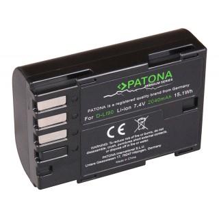 Batteria D-LI90 per Pentax K-1 / K-5 / K-7, 2040 mAh