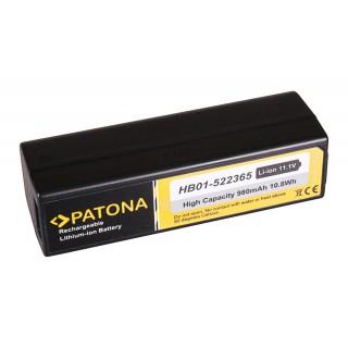 Batteria HB01 per DJI Osmo Handheld 4k Camera, Zenmuse X3, 980 mAh