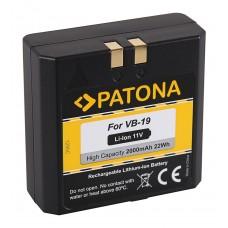 Batteria per Godox Ving V850 / V860, 2000 mAh