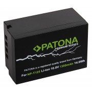 Batteria NP-T125 per Fuji GFX-50S, 1300 mAh