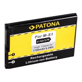 Batteria per Blackberry Bold 9000 / 9030 / 9220 / 9630 / 9700, 1700 mAh