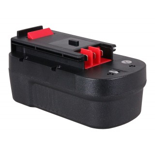Batteria per Black & Decker A1718 / A18 / FSB18 / HPB18 / QP18, 18 V, 3.0 Ah