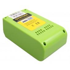 Batteria per Greenworks 29322 / 29807, 24 V, 4.0 Ah