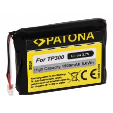 Batteria per Blaupunkt TP300, 1500 mAh