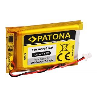 Batteria per Garmin iQue 3200 / 3600, 2000 mAh