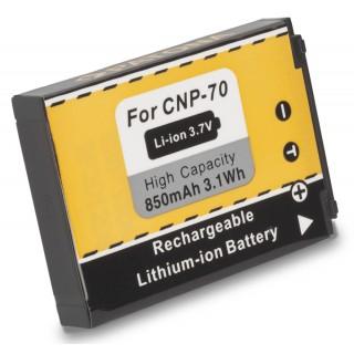 Batteria NP-70 per Casio Exilim EX-Z150 / EX-Z155 / EX-Z250, 850 mAh