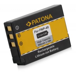 Batteria NP-48 per Fuji QX1, 850 mAh