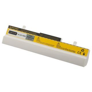 Batteria per Asus Eee PC 1001 / 1001H, bianca, 6600 mAh