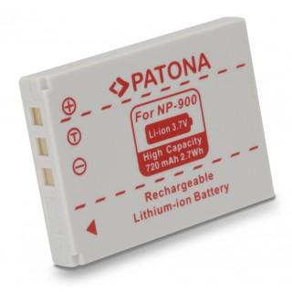 Batteria NP-900 per Konica Minolta Dimage E40 / E50, 720 mAh