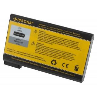 Batteria per Dell Inspiron 2100 / 4000 / 8000, 4400 mAh