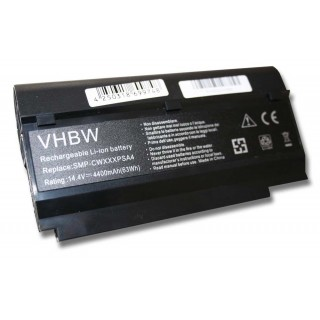 Batteria per Fujitsu Siemens Lifebook M1010 / Mini Ui3520, 4400 mAh