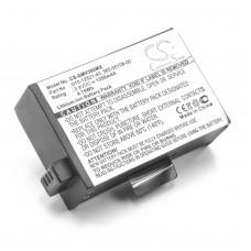 Batteria per Garmin Virb 360, 1250 mAh