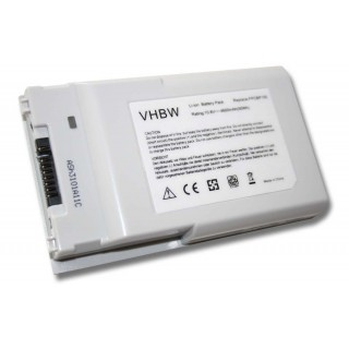Batteria per Fujitsu Siemens Lifebook T4210 / T4215 / T4220 Tablet PC, 4600 mAh