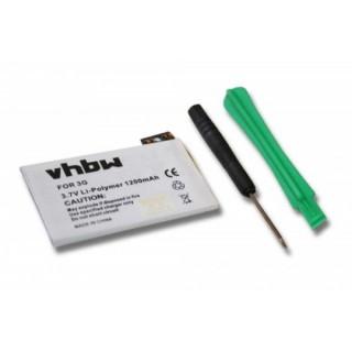 Batteria per Apple iPhone 3 / 3G, strumenti inclusi, 1200 mAh