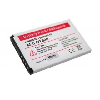 Batteria per Alcatel OT-800 / OT-802 / OT-808, 700 mAh