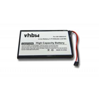 Batteria per Garmin Nüvi 1200 / 1250 / 1260, 930 mAh
