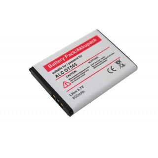 Batteria per Alcatel OT-280 / OT-363 / OT-505 / OT-708, 600 mAh