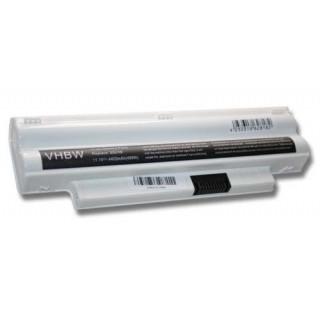 Batteria per Dell Inspiron Mini 1012 / 1018, bianca, 4400 mAh