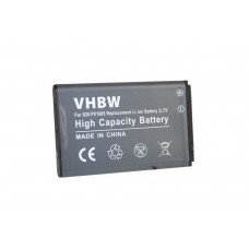Batteria PX1685 per Toshiba Camileo S20 / S40 / S45, 1100 mAh