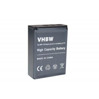 Batteria NP-170 per Medion Life MD86423 / MD86423, 1300 mAh