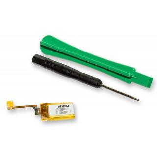 Batteria per Apple iPod Shuffle 3G, 73 mAh