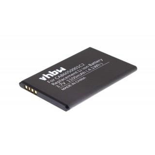 Batteria per Alcatel OT-V860, 1100 mAh