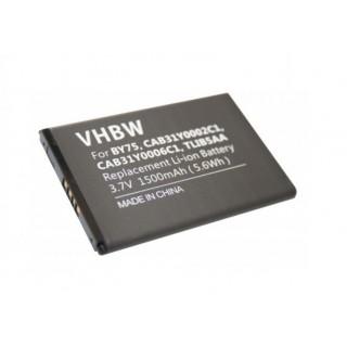 Batteria per Alcatel OT-960 / OT-C995S, 1500 mAh