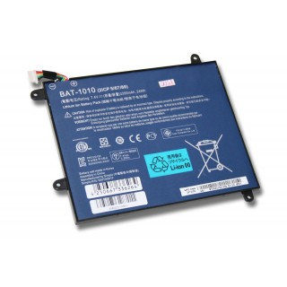 Batteria per Acer Iconia Tablet A500, 3350 mAh