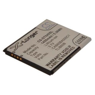 Batteria per Alcatel One Touch Shockwave, 1450 mAh