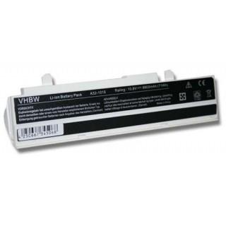 Batteria per Asus Eee PC 1011 / 1015 / 1016, bianca, 6600 mAh