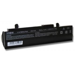 Batteria per Asus Eee PC 1011 / 1015 / 1016, nera, 6600 mAh
