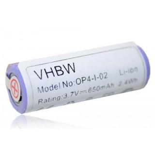 Batteria per Braun Oral-B Pro 4500 / Smart 6000 / Genius 6000, 650 mAh