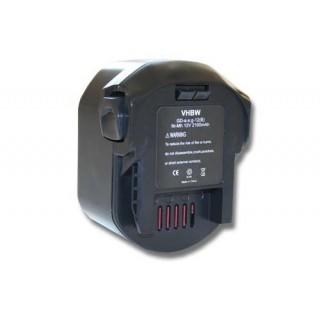 Batteria per AEG B1214G / B1215R / B1220R, 12 V, 2.1 Ah