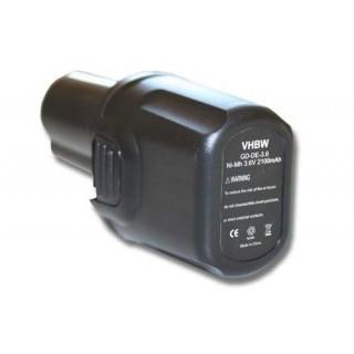 Batteria per DeWalt DC600, 3.6 V, 2.1 Ah