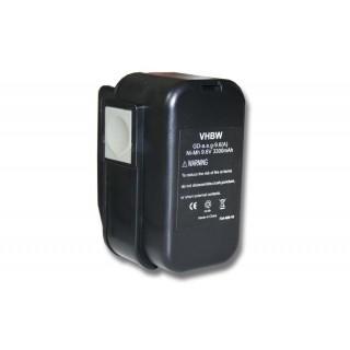 Batteria per AEG 2000, 9.6 V, 3.3 Ah