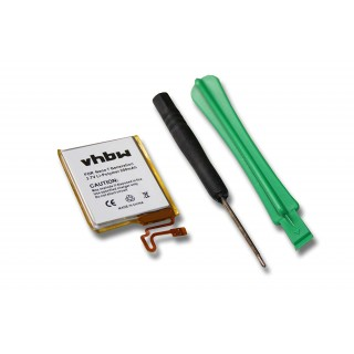 Batteria per Apple iPod Nano 7G, 200 mAh