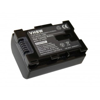 Batteria BN-VG107 per JVC Everio GZ-E100 / GZ-HD500 / GZ-MS110, 800 mAh