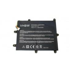 Batteria per Acer Iconia Tab A200 / A210, 3250 mAh