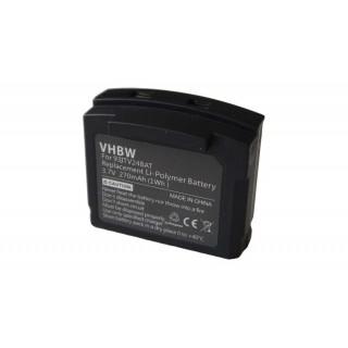 Batteria per Amplicomms TV2400 / TV2410, 270 mAh