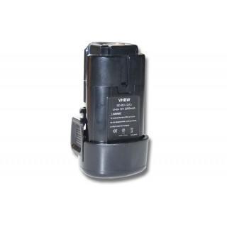 Batteria per Black & Decker LB12 / LBX12 / LBXR12, 12 V, 2.0 Ah